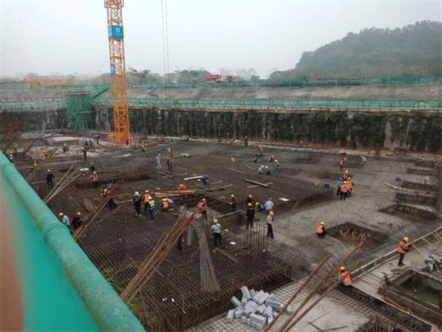 """广州亚运城E地块首板混凝土浇筑,""""粮草官""""硬核保生产"""