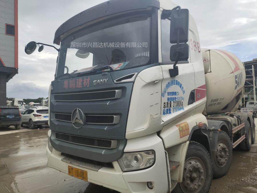 广东中山50台2019年轻量化三一重工混凝土搅拌车,12方罐