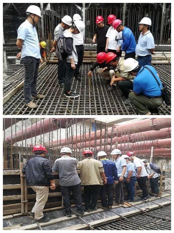 佛山地铁三号线工程3201标大墩站二期首仓底板混凝土浇筑完成