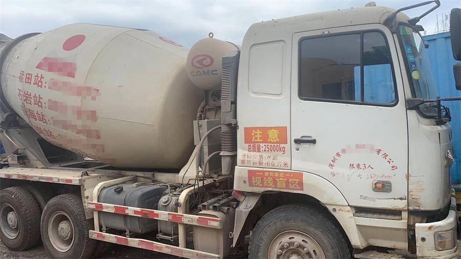 深圳50台华菱星马欧亿土搅拌车,2014、2015和2016年三批
