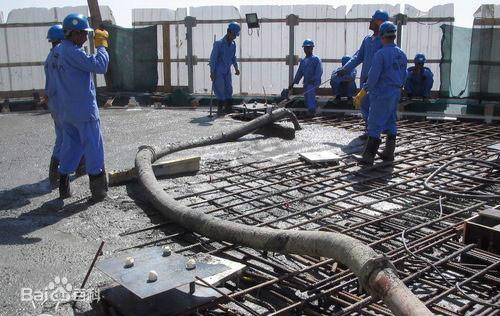 泵送混凝土