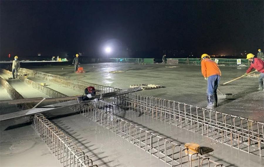 中交三航二公司:清水塘PPP项目清霞路完成单次最大方量混凝土浇筑