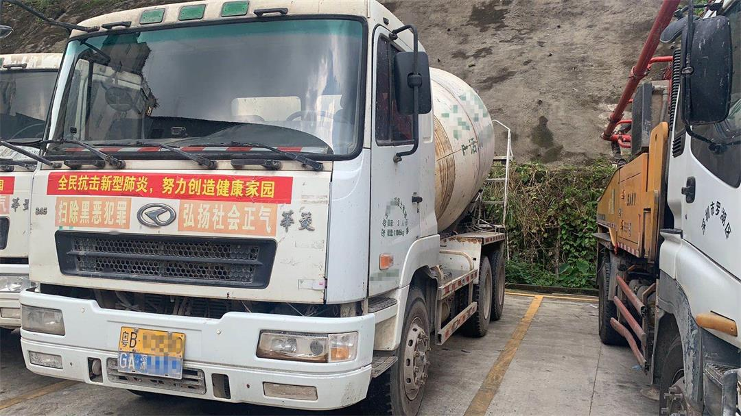 深圳2014年国四华菱星马欧亿土搅拌车,10方罐