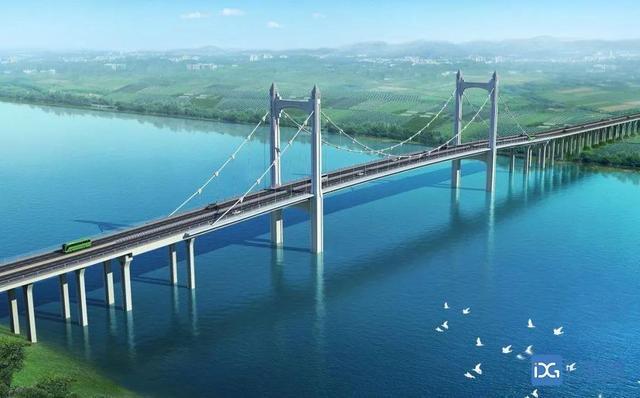 广东省东莞市沙田镇港湾大桥东岸24号主墩承台混凝土浇筑完成
